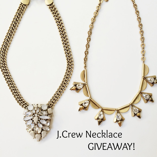J.Crew, necklace, giveaway