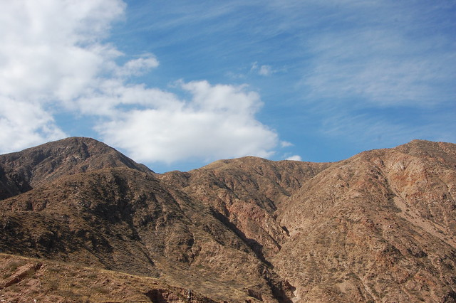 Views from Cacheuta, Mendoza, Argentina