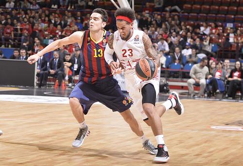 Sparatoria del Barcellona, l'Olimpia cede 63-78