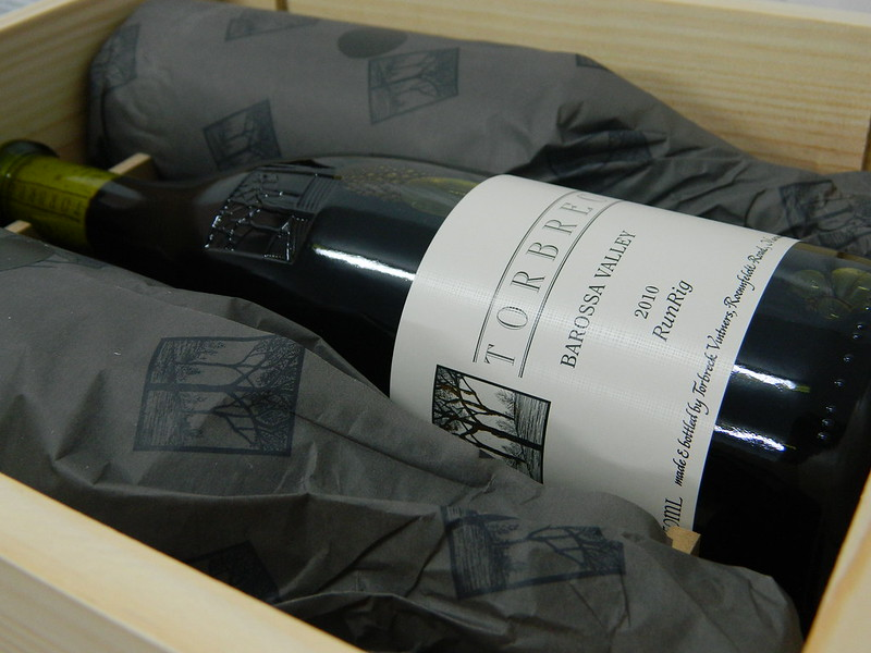 Torbreck Vintners 'RunRig' 2010 Shiraz (Wine Advocate 100 Points)