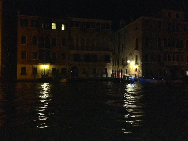 Dark Palaces on the Grand Canal