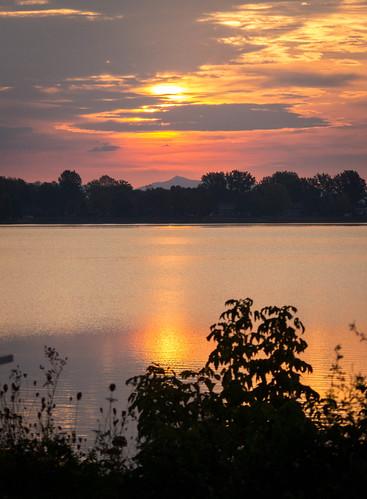 sunrise vermont jaypeak lakechamplain rousespoint alburgh
