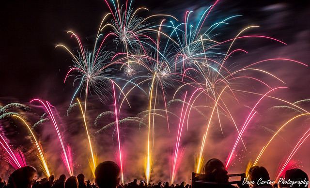 UK Festival of Fireworks by Dave Carter