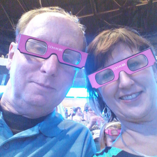 With Heather at Katy Perry #concert #katyperry #oldestonehere