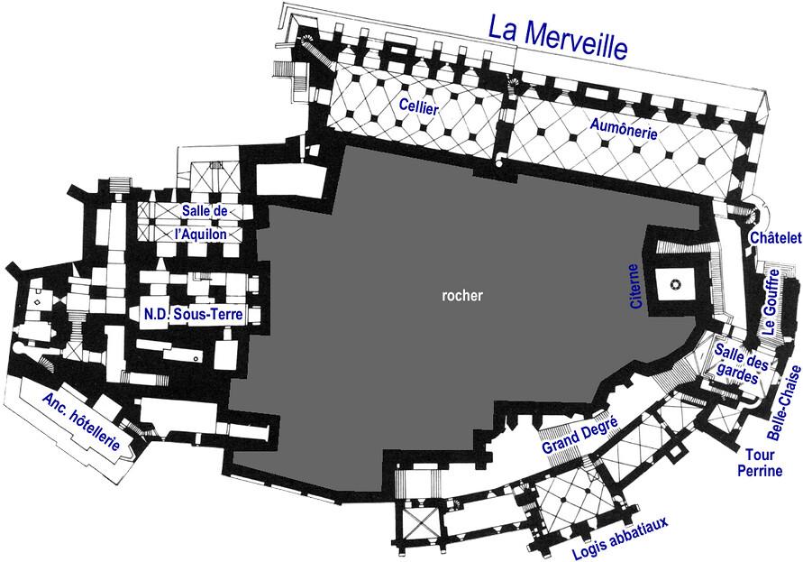 Mont Saint-Michel - RdC