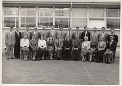 Staff at Sunshine High School, Vic, c1958
