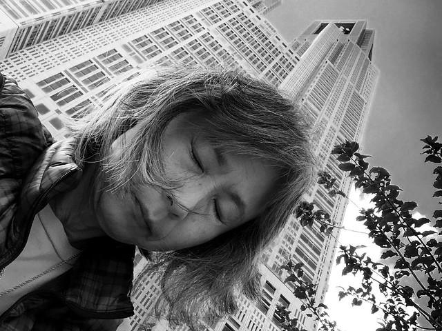 "iphone photo 475: ""Shinjuku"" (Tokyo Metropolitan Government Building). Oct 2014"