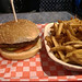 Big Jack's Burger Shop - the burger and fries