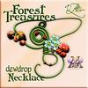 AZE Forest Treasures Dewdrop Necklace MRF Exclusive