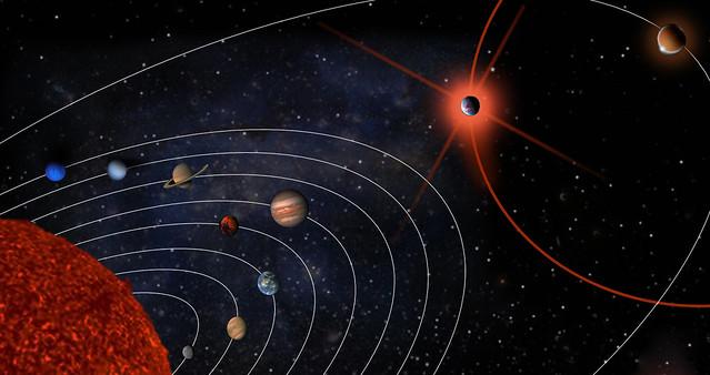 posible sistema solar con planeta nibiru incluido