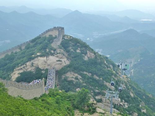 Beijing-Grande Muraille-Téléphérique (3)