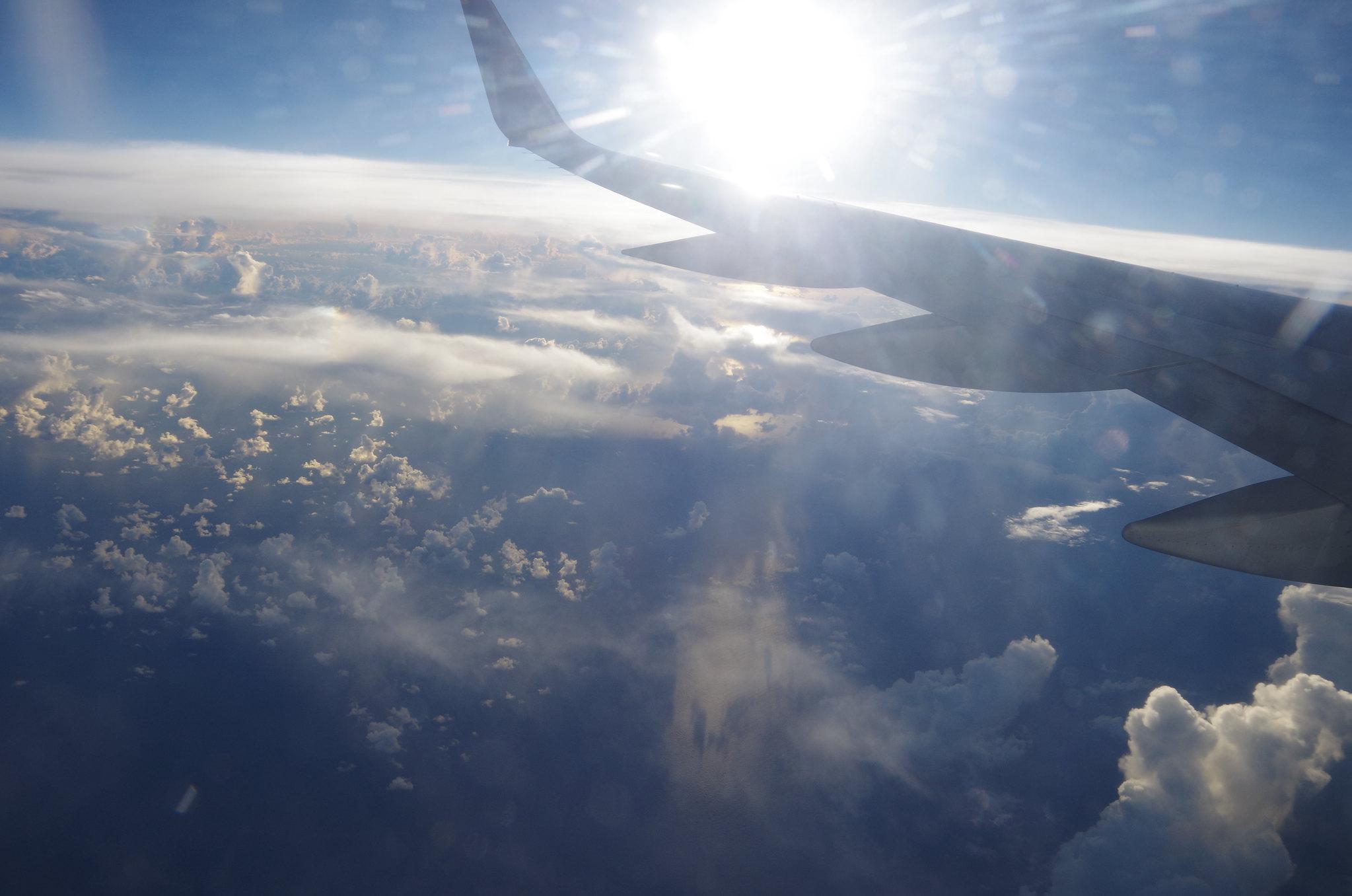 overlook the sky