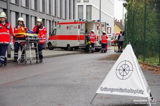 "MANV-Übung ""Wellness"" Wiesbaden 25.10.2014"