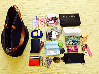 What's in my bag today... #wimb