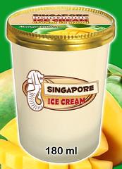 Ice Cream Cup - Mango Clinton