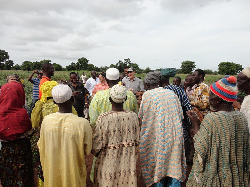 engagement with farmers in Northern Ghana