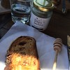 Raw Sydney honey from #centennialpark #surryhills with fig, raisin and cranberry sourdough. Tasty.