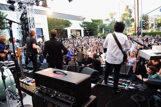 Ринго Старр отметил Международный день мира выступлением в Лос-Анджелесе