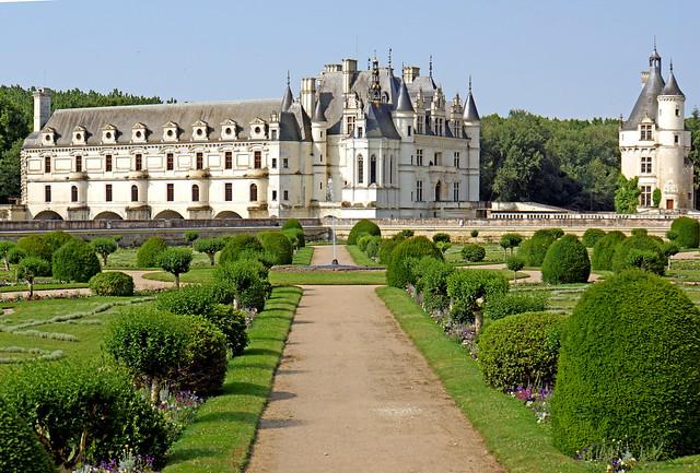 France-001649 - Diane's Garden & Château de Chenonceau
