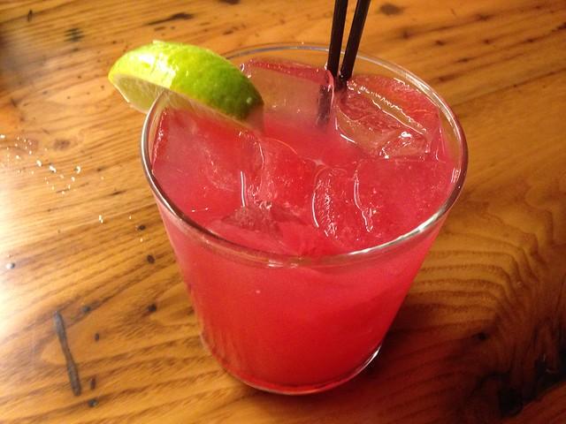 Hibiscus margarita cocktail - Tico