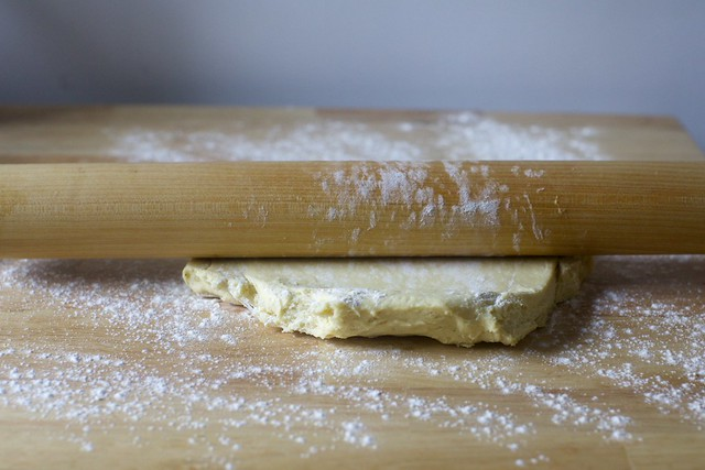 rolling out chilled dough is easier