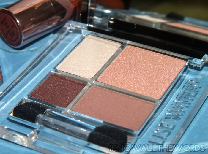 Lise Watier Alex Collection- Alex Eyeshadow Quartet