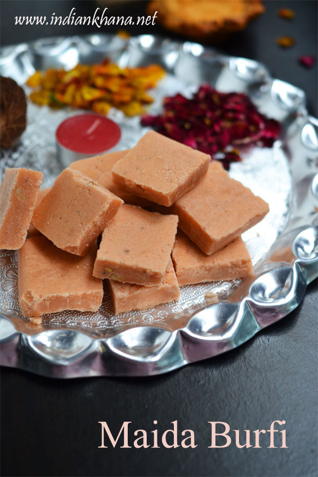 Maida-Burfi-Recipe