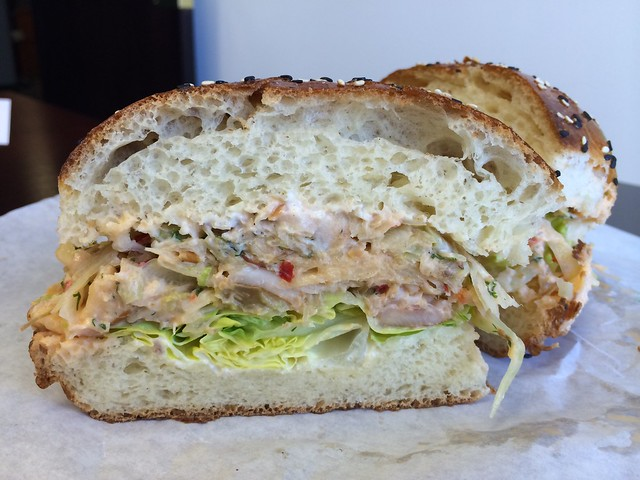 Smoked trout salad sandwich - The Sentinel
