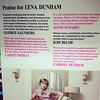 Lena Dunham has a blurb of praise on her book from Judy Blume. Lena Dunham is my new hero.