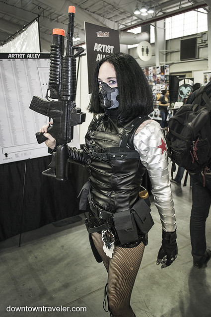 NY Comic Con 2014 Winter Soldier Cosplay