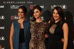 Úrsula Corberó, Andrea Duro y Elena Furiase en el Festival de cinema Fantastic de Sitges 2014