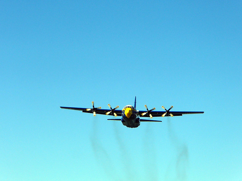 Fat Albert Fly-By