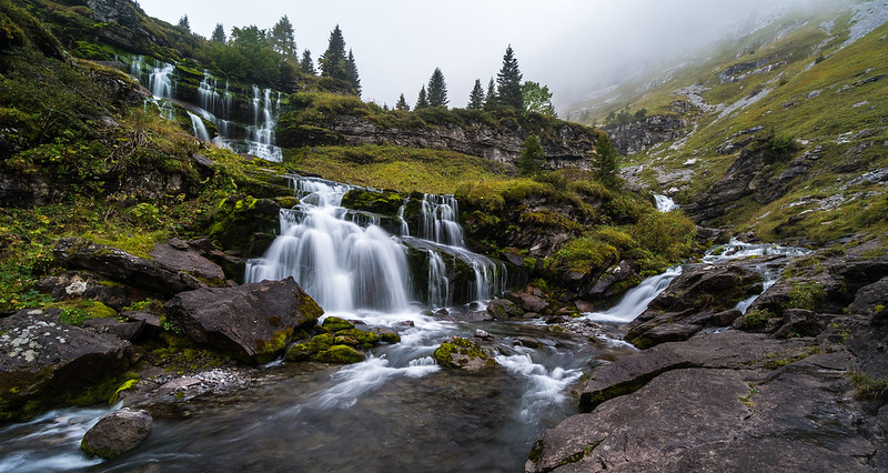 Cascade de Trainant, French Alps