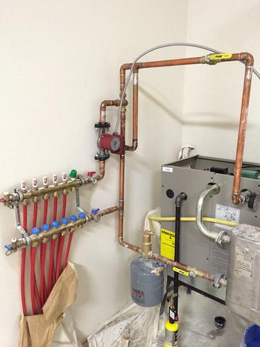 gv90  boiler plumbing problems