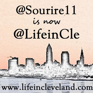 I changed my Instagram handle to match my blog Life in Cleveland.  I am @LifeinCle on twitter now, too. Yay consistency!