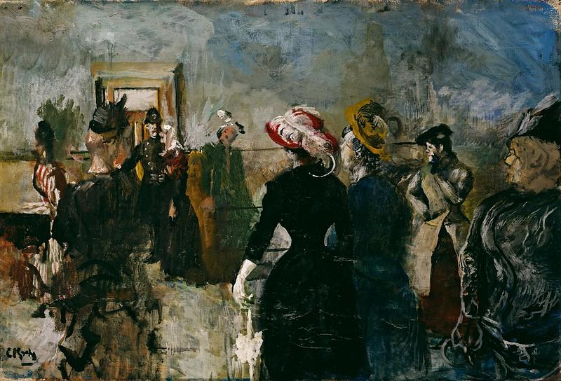 Christian Krohg - Albertine (1917)