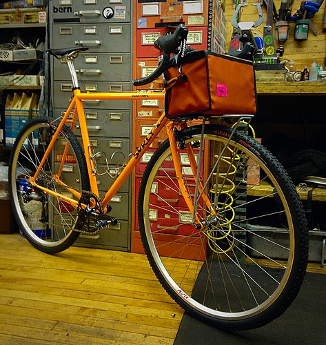 Vlad's Surly Cross Check in Dream Tangerine