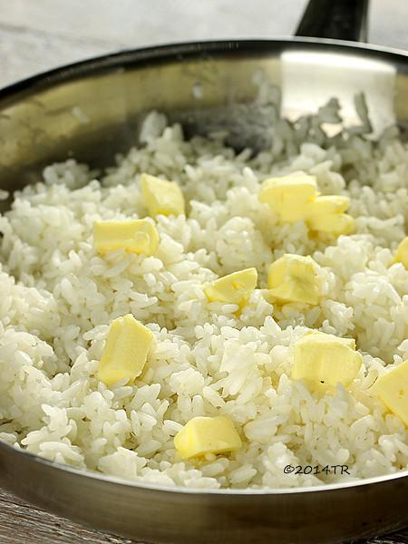 奶油烘飯(加碼用烤箱煮白飯)-20141014