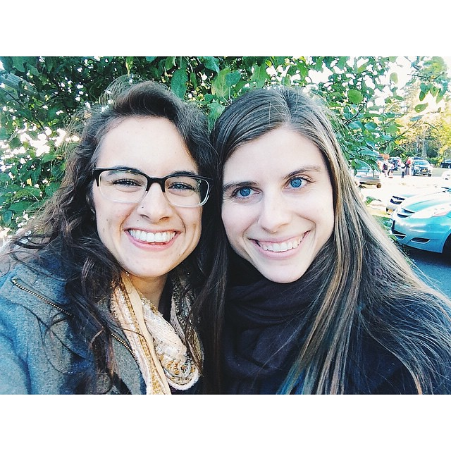 Despite our change in plans or was a delightfully full and fun day! I love getting to spend time with friends like this gorgeous woman! #jhoppicksapples #ejlnyc14 #vscocam #latergram #pumpkin