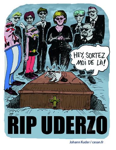 Affaire Uderzo : Père et fille réconciliés, un non-lieu rendu à Versailles, par Johann Kuder