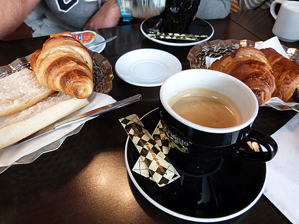 petit déjeuner à Orléans