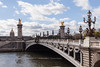 Pont Alexandre III (Looking Toward The Left Bank)