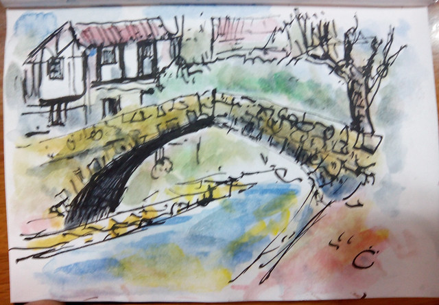 45th. sketchcrawl. Ea, 2014-X-18