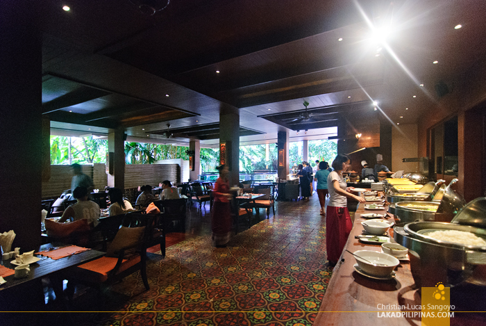 Slee Banyan Restaurant at Siripanna Villa Resort Spa in Chiang Mai