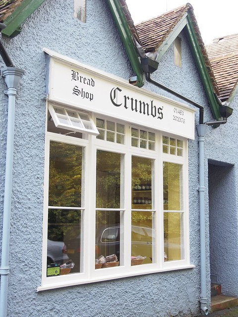 Crumbs Bakery, Shere, Surrey, England, Travel