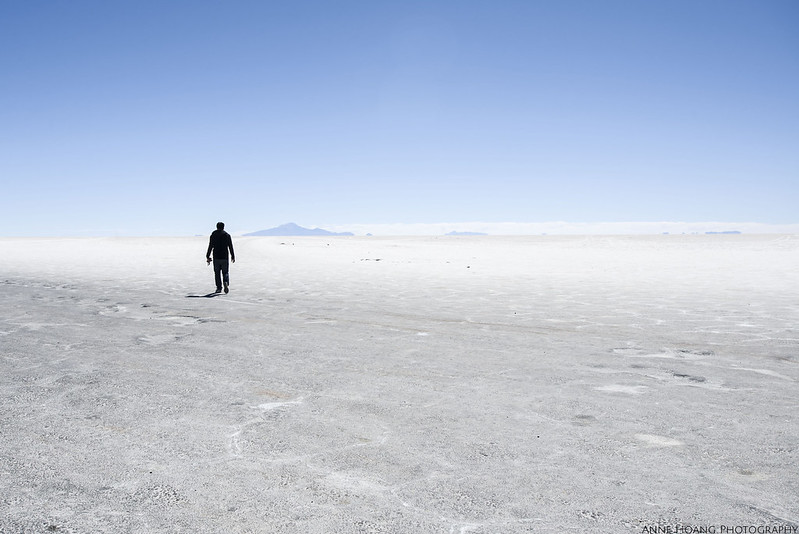 Salar de Uyuni (salt flats in Bolivia)