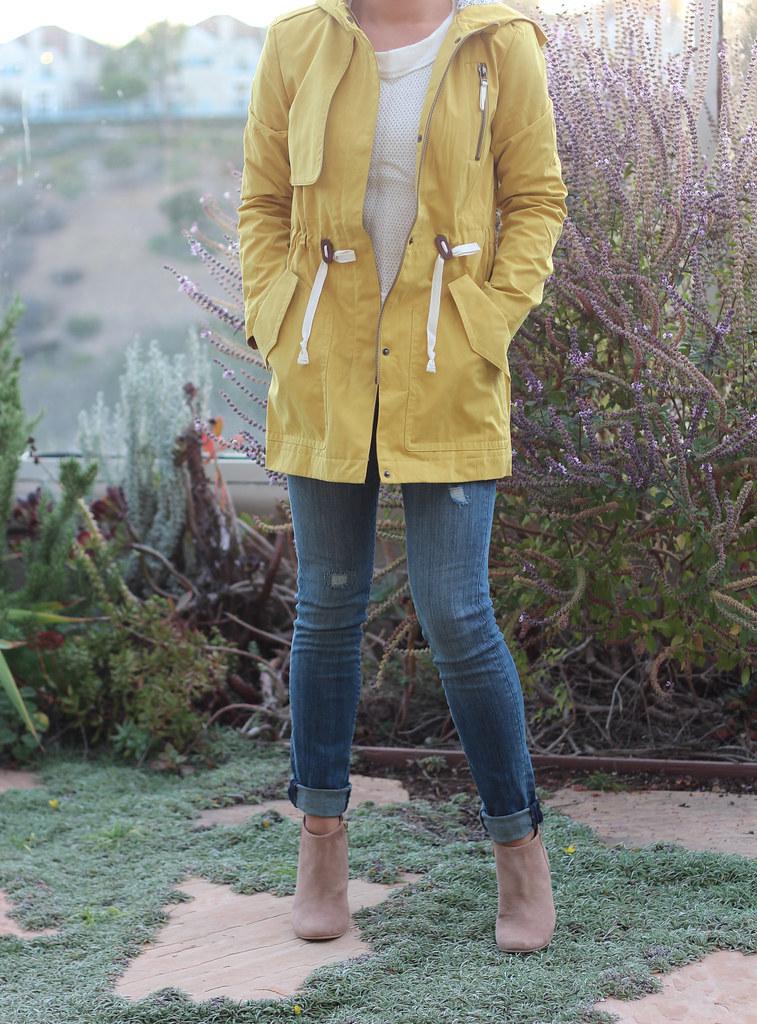 Loft Anorak Mustard Jacket
