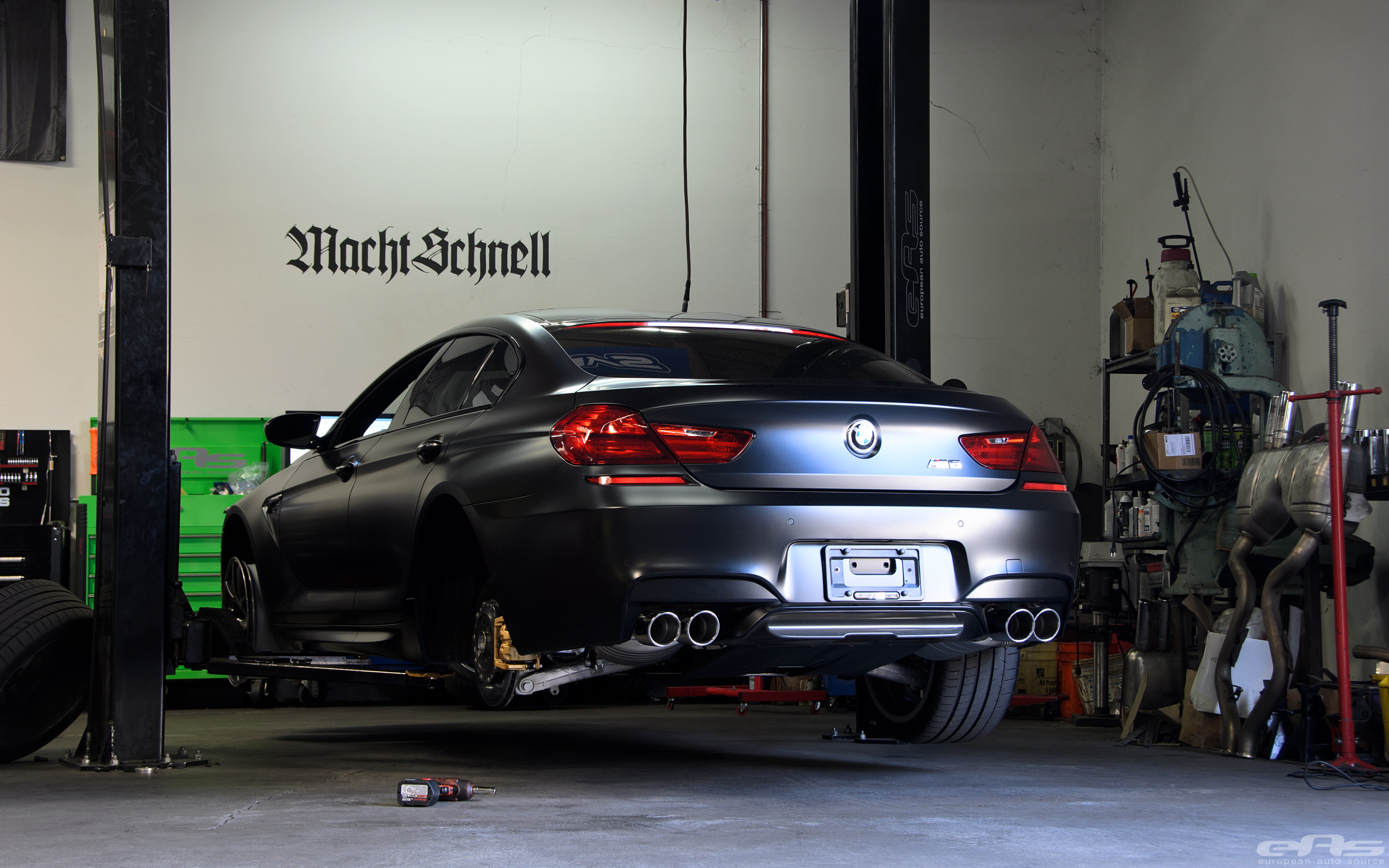 Frozen Black M6 Gran Coupe Bmw Performance Parts Amp Services