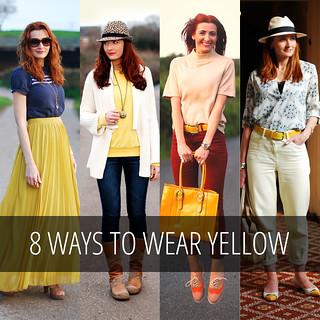 8 Ways to Wear Yellow