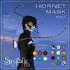 Spyralle Hornet Mask - Rust